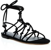Rebecca Minkoff Elyssa Suede Lace Up Gladiator Sandals