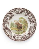 Spode Woodland Moose Dinner Plates, Set of 4