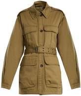 MiH Jeans Lang point-collar reversible jacket