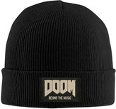 Poic3u6 Doom Original Game Soundtrack Mick Gordon Beanie Cap