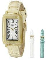 Kenneth Jay Lane Women's KJLANE-0911S-BSET Moderne Analog Display Japanese Quartz Beige Watch