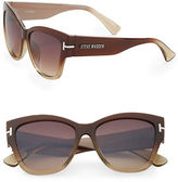 Steve Madden 64MM Square Cats Eye Sunglasses