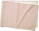 Maison Du Linge Stripe Table Runner - Red/Ecru