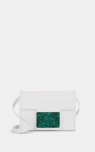 Montunas Women's Cala Convertible Leather Belt Bag - White