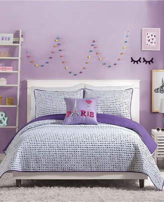 Nanette Lepore Urban Playground Joceline Full/Queen Quilt Set - 3 Piece Bedding
