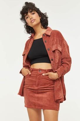 Ardene Corduroy Mini Skirt