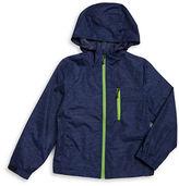 Hawke & Co Boys 8-20 Water-Resistant Hooded Windbreaker