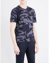 Sandro Camouflage Cotton-jersey T-shirt