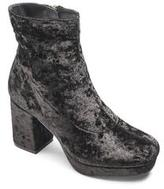 Sole Diva Velvet Ankle Boot