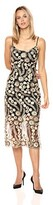 Thumbnail for your product : Bebe Women's 3D Flower Lace Midi Dress