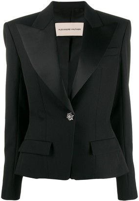 Alexandre Vauthier Fitted Tuxedo Jacket