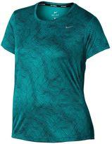 Nike Plus Size EXT Miler Dri-FIT Crewneck Running Tee