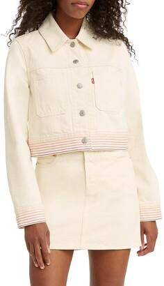 Levi's Rainbow Denim Trucker Jacket