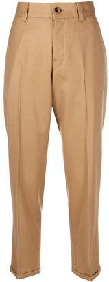 Pt01 Straight Cropped Leg Trousers