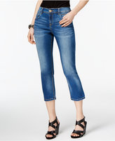 INC International Concepts Curvy Cropped Straight-Leg Jeans, Only at Macy's