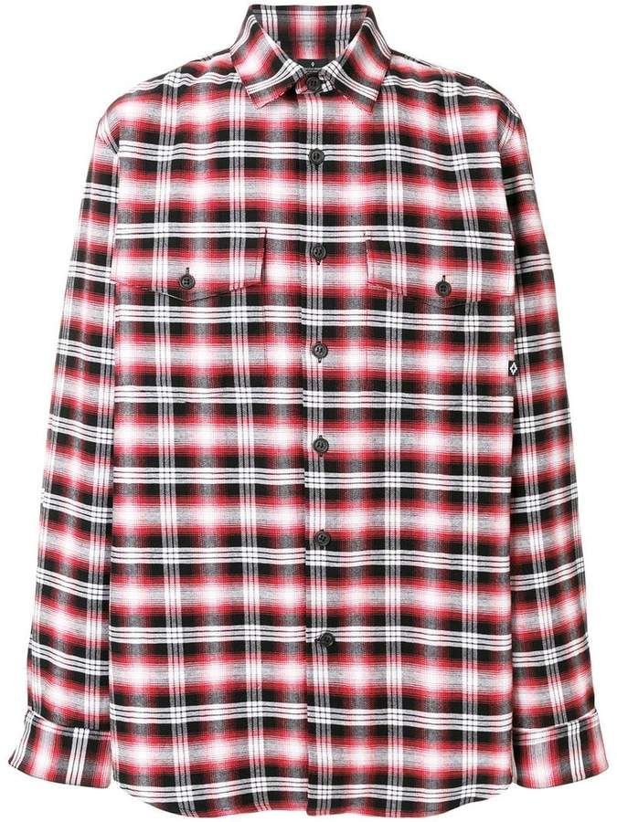 Marcelo Burlon County of Milan Dog plaid shirt