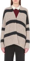 Brunello Cucinelli Striped alpaca