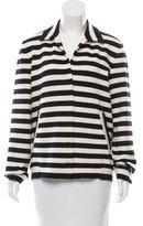 Akris Punto Striped Wool Jacket