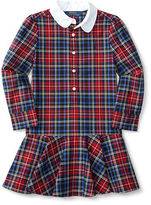 Ralph Lauren Plaid Cotton Oxford Shirtdress