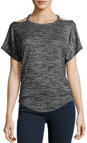 Rag & Bone Cutout Short-Sleeve T-Shirt