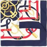 Hermes belt print scarf