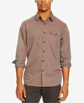 Kenneth Cole Reaction Men's Chambray Gingham Shirt