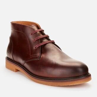 Timberland Men's Oakrock Waterproof Leather Chukka Boots - Rust