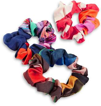 Echo 3-Piece Multicolour Scrunchie Set