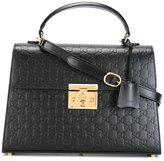 Gucci Padlock GG Supreme tote - women - Leather - One Size
