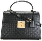 Gucci Padlock GG Supreme tote - women - Leather - One Size