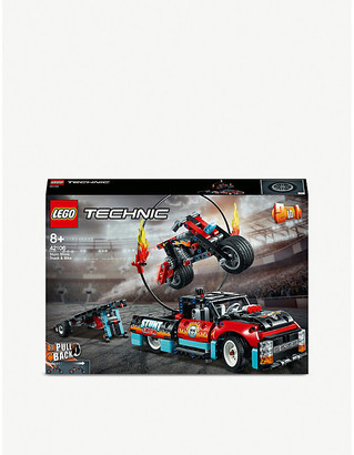 Lego Technic Stunt Show Truck & Bike set