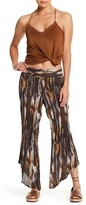 Free People Dancing Days Pull On Print Pant