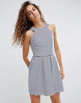 d.RA Rosalie Striped Skater Dress