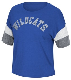 Top of the World Women's Kentucky Wildcats Sleeve Stripe T-Shirt