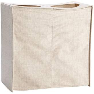 Pottery Barn Teen Collapse And Carry Hamper, Linen