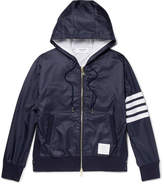 Thom Browne - Striped Ripstop Hooded Jacket