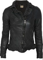 Muu Baa Muubaa Nassau leather biker jacket