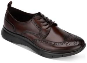 Kenneth Cole New York Men's Trent Dress Casual Wingtip Oxfords Men's Shoes