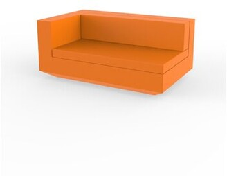 Vondom Vela Patio Sofa with Cushions Color: Orange