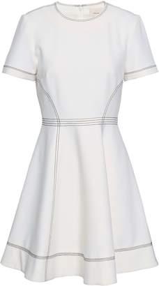 Cinq à Sept Bryce Flared Cady Mini Dress