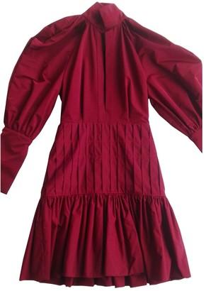 Ellery Burgundy Polyester Dresses