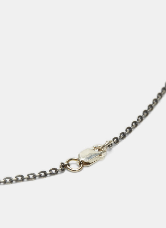 Pearls Before Swine Small Triple Thorn Pendant Necklace in Silver