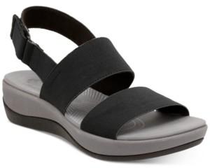 Clarks Collection Women's Arla Jacory Flat Sandals Women's Shoes