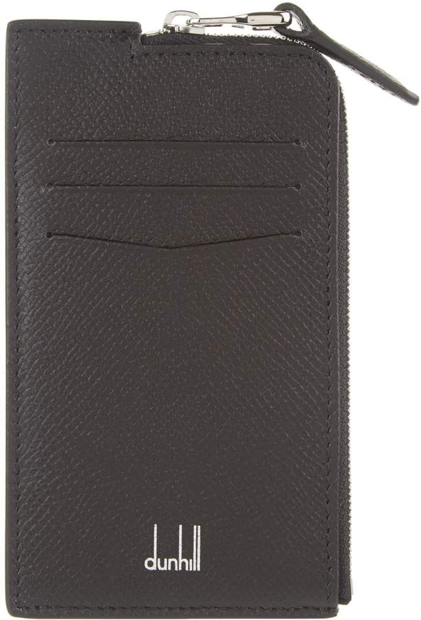 Dunhill Leather Zipped Card Holder