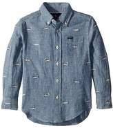 Polo Ralph Lauren Linen-Cotton Chambray Shirt Boy's Clothing