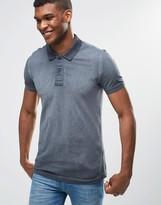 Benetton Oil Wash Polo Shirt