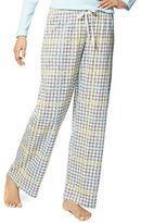 Hue Sun-Loving Houndstooth Plaid Pajama Pants