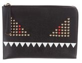 Fendi Flat Monster Clutch