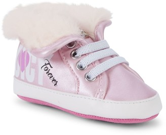 Juicy Couture Girl's Faux Fur-Lined High-Top Sneakers