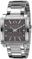 Armani Exchange Bronze Square Watch